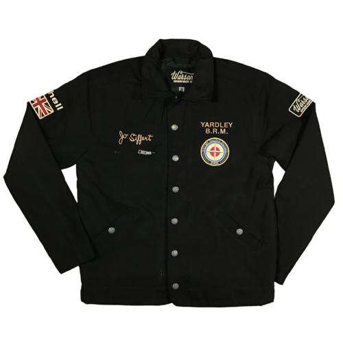 Heavy Driver Jo Siffert Jacket Black
