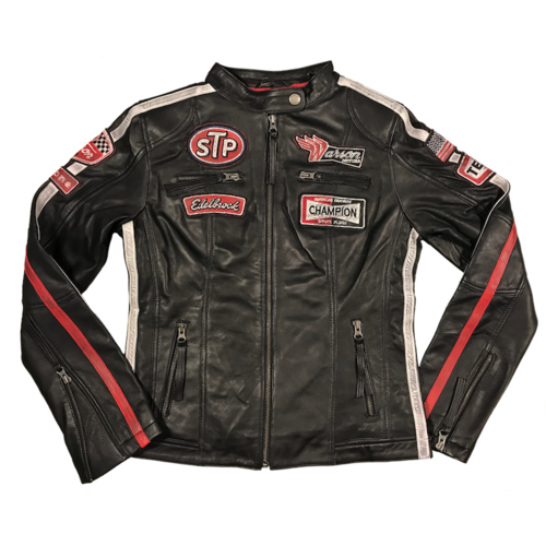 Daytona Leather Black Womens